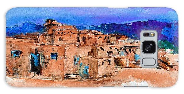 Taos Pueblo Village Galaxy Case