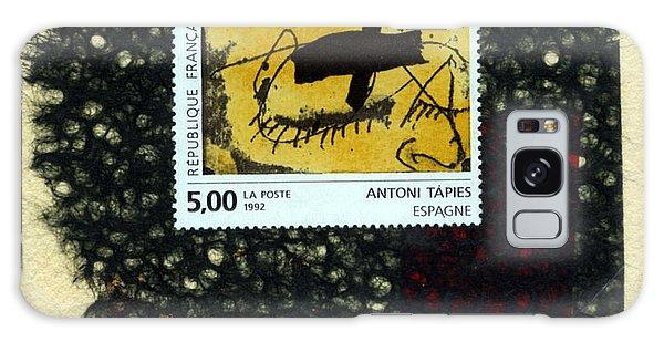 Tapies Stamp Collage Galaxy Case