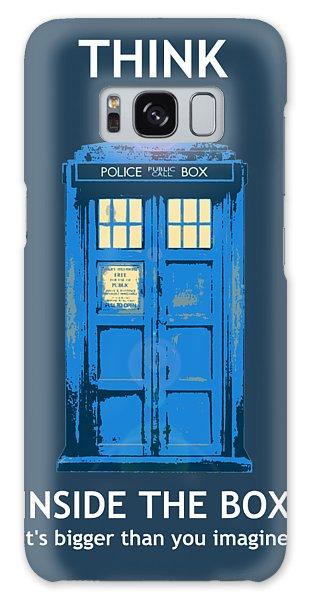 Tardis - Think Inside The Box Galaxy Case