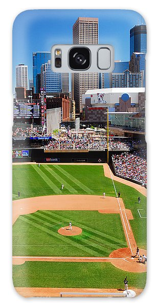 Target Field, Home Of The Twins Galaxy Case by James Kirkikis