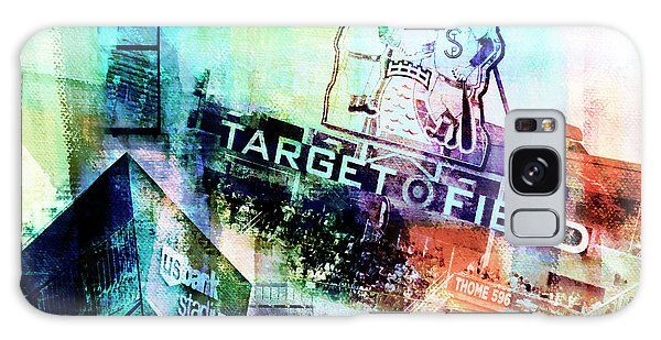 Target Field Us Bank Staduim  Galaxy Case by Susan Stone