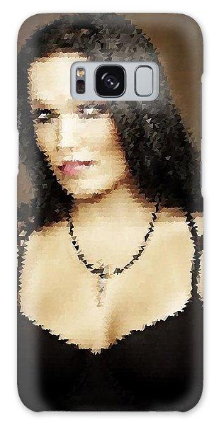 Galaxy Case featuring the digital art Tarja 17 by Marko Sabotin