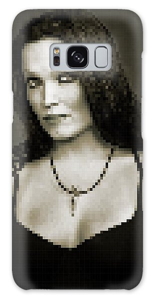Galaxy Case featuring the digital art Tarja 4 by Marko Sabotin