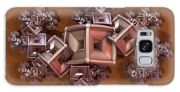 Tarnished Marcasite Fractal Galaxy Case by Manny Lorenzo