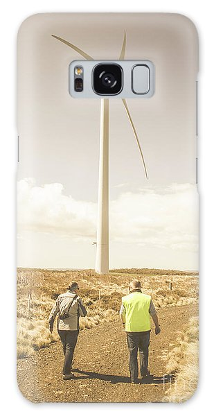 Wind Power Galaxy Case - Tasmania Turbine Tours by Jorgo Photography - Wall Art Gallery