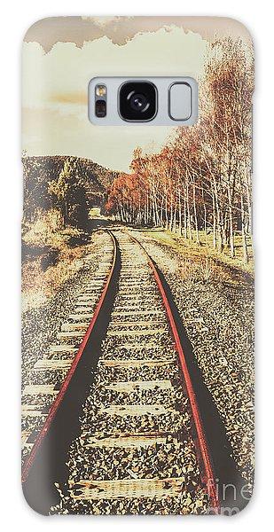 Countryside Galaxy Case - Tasmanian Country Tracks by Jorgo Photography - Wall Art Gallery