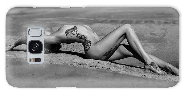 Tattoo Woman On The Beach Galaxy Case by Vitaly Vachrushev