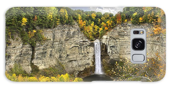 Taughannock Falls Autumn Galaxy Case