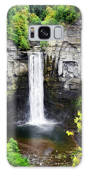 Taughannock Falls View From The Top Galaxy Case