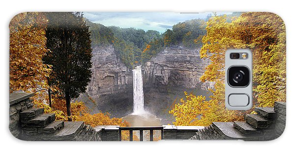 Taughannock In Autumn Galaxy Case