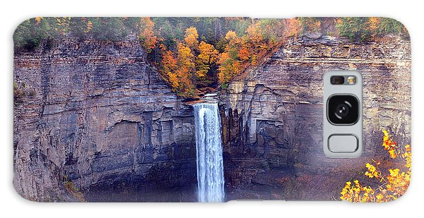 Taughannock Waterfalls In Autumn Galaxy Case