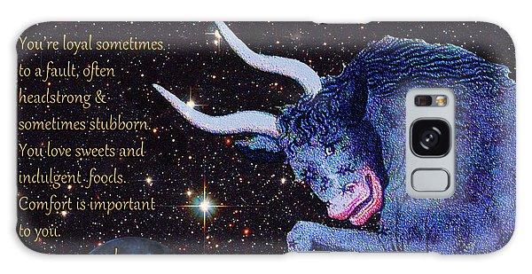 Taurus Birthday Zodiac Astrology Galaxy Case