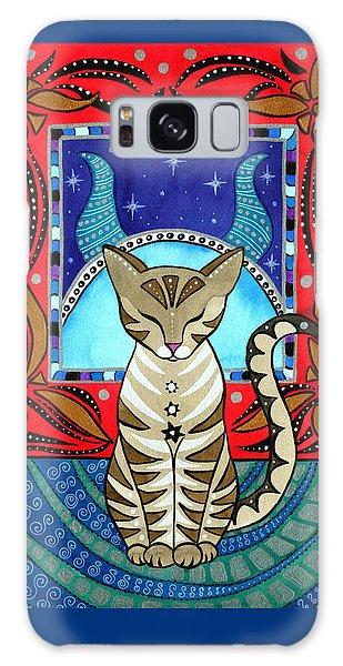 Taurus Cat Zodiac Galaxy Case