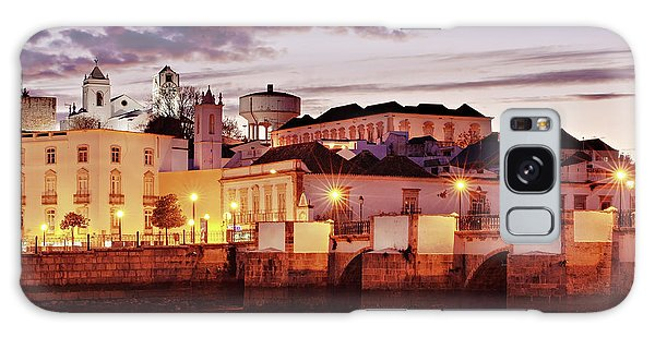 Galaxy Case featuring the photograph Tavira At Dusk - Portugal by Barry O Carroll