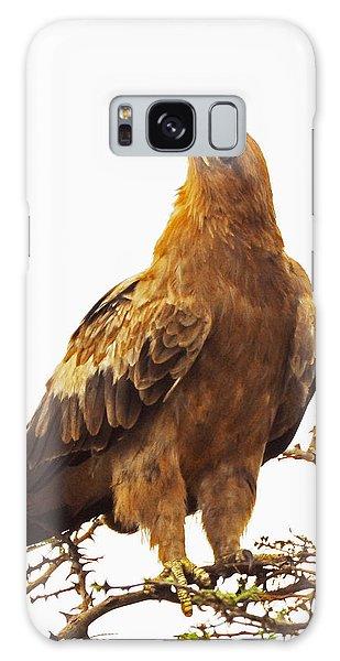 Tawny Eagle Galaxy Case