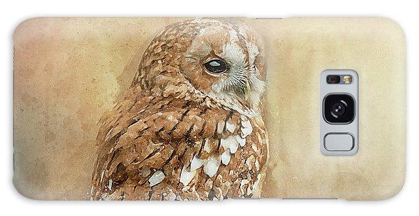 Tawny Owl Galaxy Case