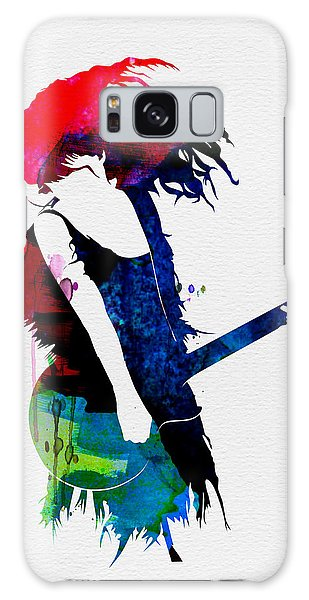 Taylor Watercolor Galaxy Case by Naxart Studio