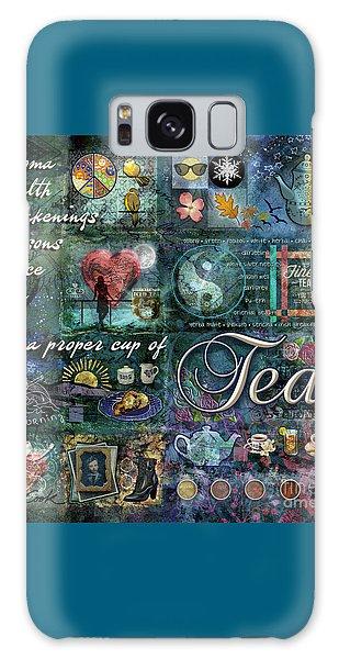 Tea Galaxy Case by Evie Cook