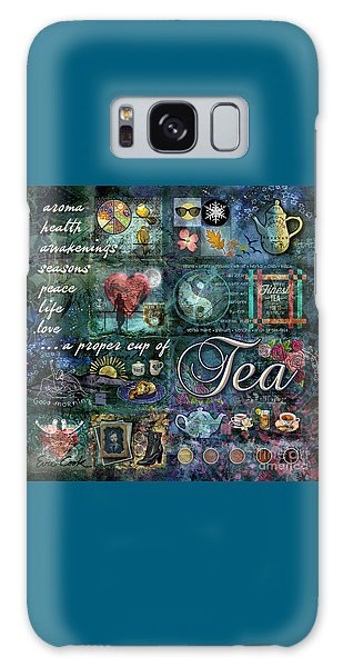 Tea Galaxy Case by Evie Cook