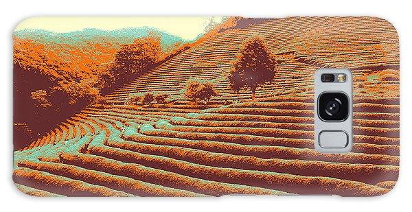 Tea Field Galaxy Case