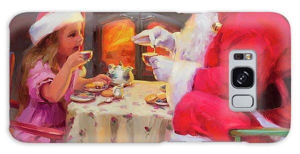 Santa Claus Galaxy Case - Tea For Two by Steve Henderson