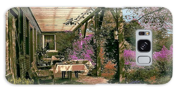 Tea Garden Galaxy Case by John Selmer Sr