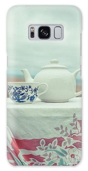 Picnic Table Galaxy Case - Tea Service by Edward Fielding