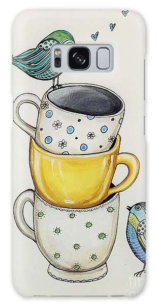 Tea Time Friends Galaxy Case