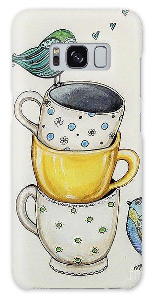Tea Time Friends Galaxy Case
