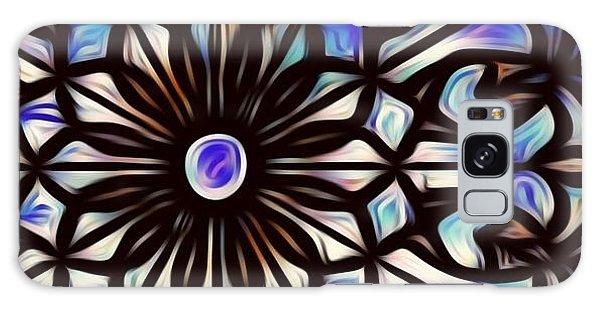 Teal Purple Vibe Galaxy Case