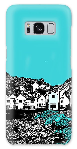 Teal Staithes Galaxy Case