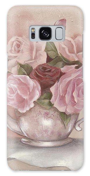 Teapot Roses Galaxy Case