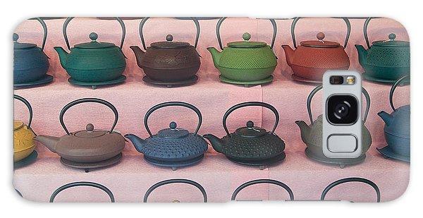 Teapots Galaxy Case