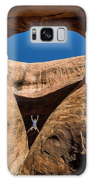 Teardrop Arch Galaxy Case