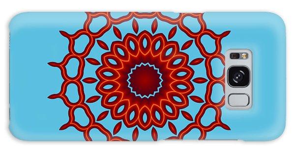 Teardrop Fractal Mandala Galaxy Case