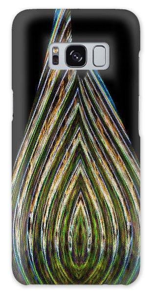 Galaxy Case featuring the digital art Teardrop by Wendy Wilton