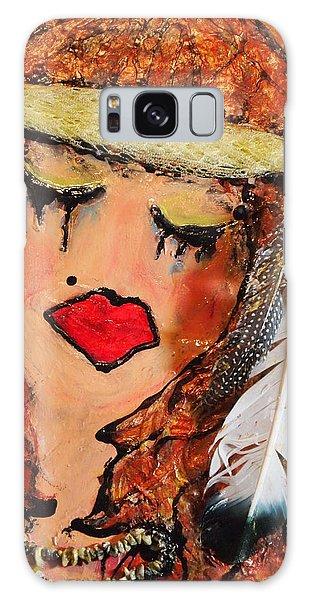 Tears Of Suffering Galaxy Case by Laura  Grisham
