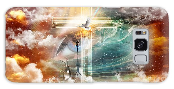 Tears To Triumph Galaxy Case by Dolores Develde