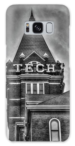 Tech B W Georgia Institute Of Technology Atlanta Georgia Art Galaxy Case