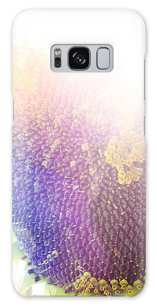 Galaxy Case featuring the photograph Technicolor Sunflower by Christi Kraft