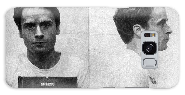 Ted Bundy Mug Shot 1975 Horizontal  Galaxy Case
