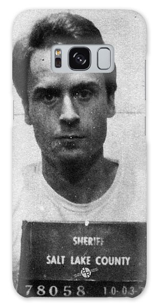 Ted Bundy Mug Shot 1975 Vertical  Galaxy Case