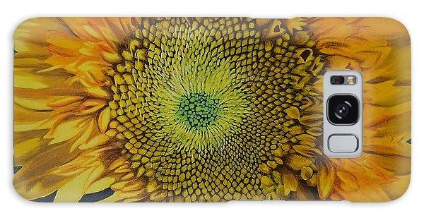 Hyper-realistic Galaxy Case - Teddy Bear Sunflower by Amelia Emery
