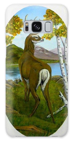 Teddy's Deer Galaxy Case by Sheri Keith