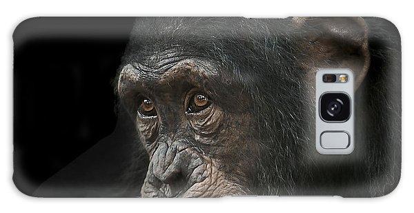 Chimpanzee Galaxy S8 Case - Tedium by Paul Neville