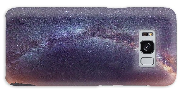Galaxy Case featuring the photograph Teide Milky Way by James Billings