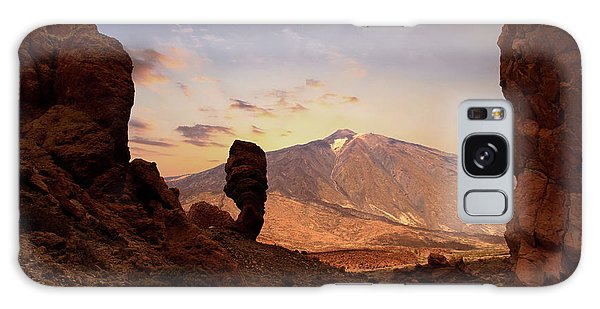 Canary Galaxy S8 Case - Teide - Tenerife by Cambion Art