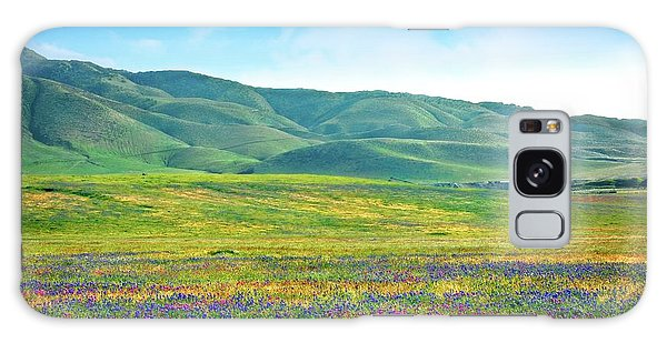 Tejon Ranch Wildflowers Galaxy Case
