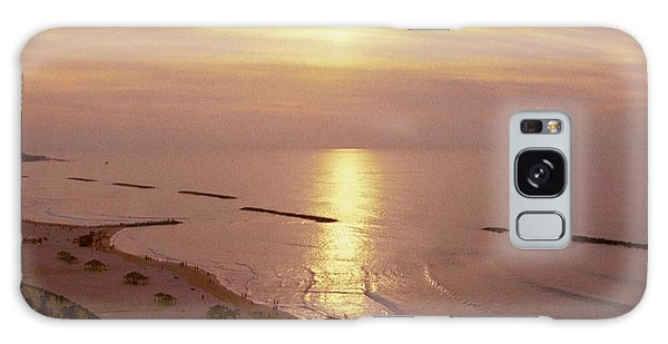 Tel Aviv Beach Morning Galaxy Case