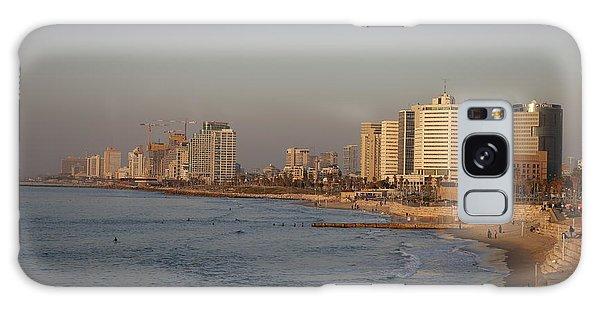 Tel Aviv Coast. Galaxy Case